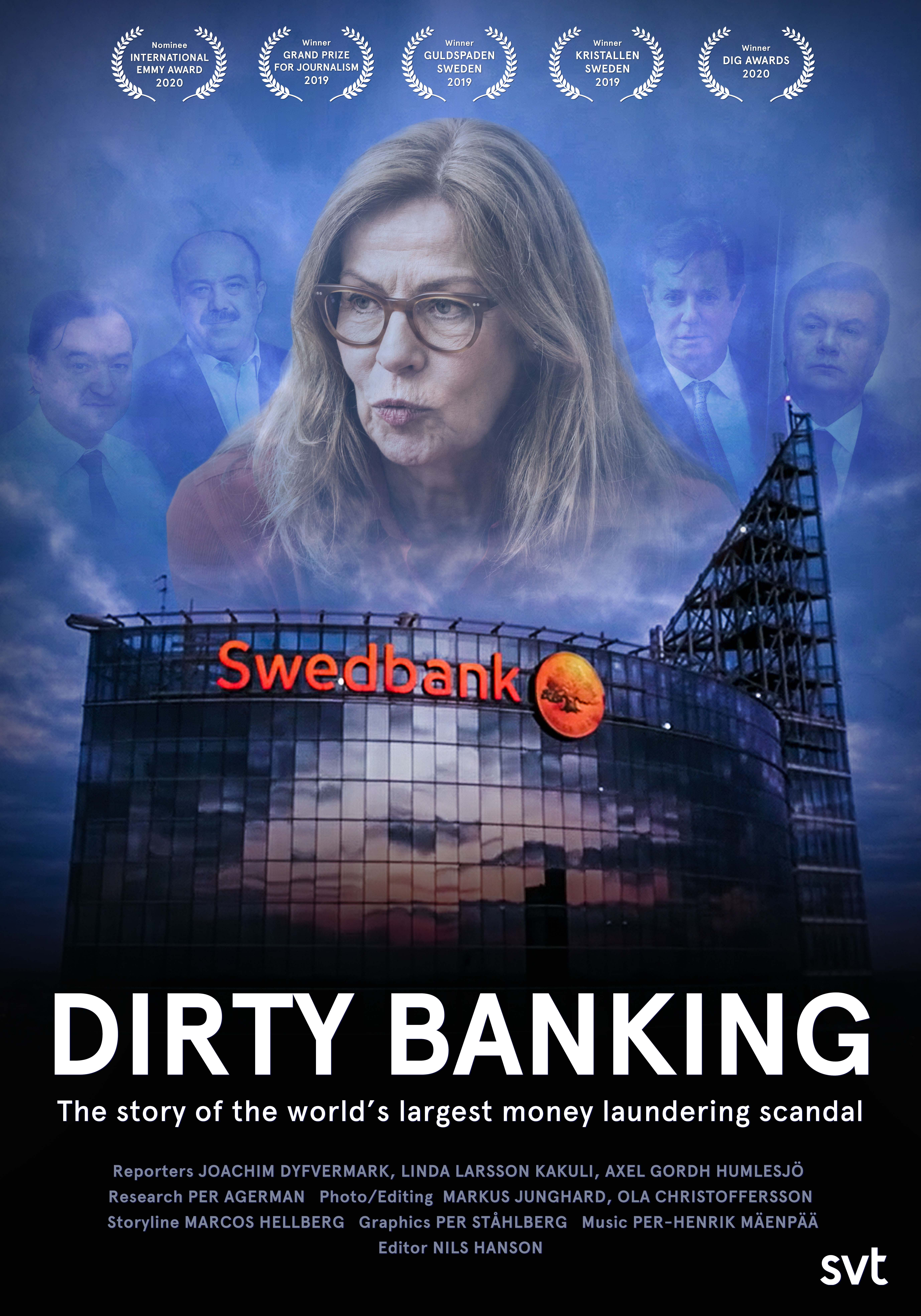 Poster image for the documentary Dirty Banking.